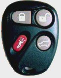 REMOTE MADE FOR: GMC, Chevrolet, Oldsmobile, Cadillac, Pontiac