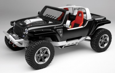 Jeep Hurricane Concept, 2005